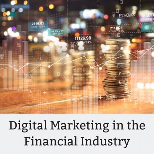 Digital Marketing in the finance industry