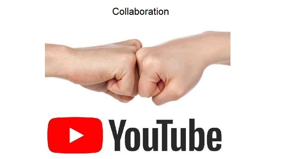 Collaboration to promote a youtube channel